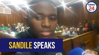 WATCH: 'I tried to be a positive influence' - convicted murderer Sandile Mantsoe