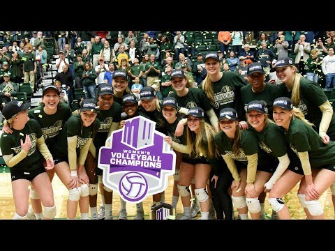 Rams Picked as 2018 Mountain West Volleyball Favorite (видео)