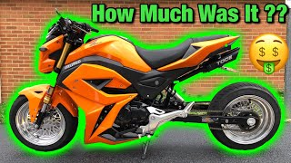 8. What Did My Custom 2019 Honda Grom Build Cost?