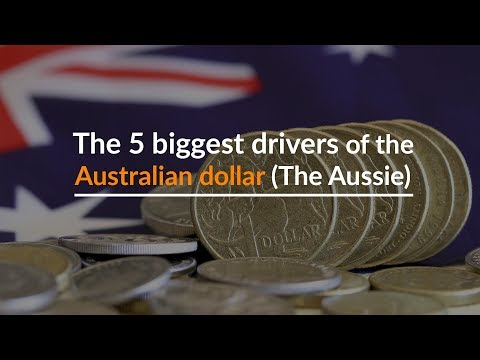 The 5 biggest drivers of the Australian dollar