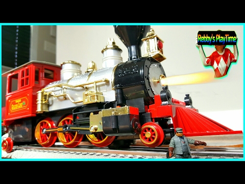 Giant Toy Train Pretend Play A Monster Train. Toy Crash For Kids. Accidents Will Happen.