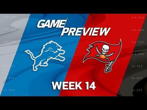 Video: Detroit Lions vs. Tampa Bay Buccaneers | NFL Week 14 Game Preview | NFL Playbook