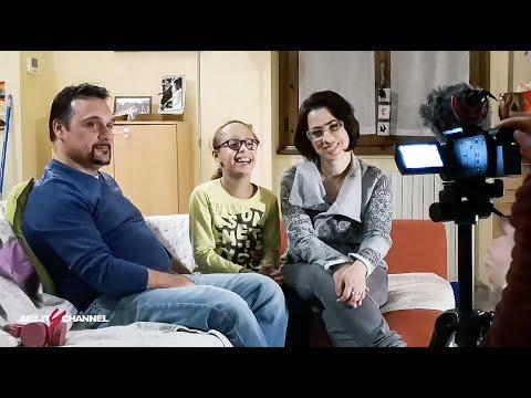 Ittiosi lamellare, la testimonianza di una famiglia romana