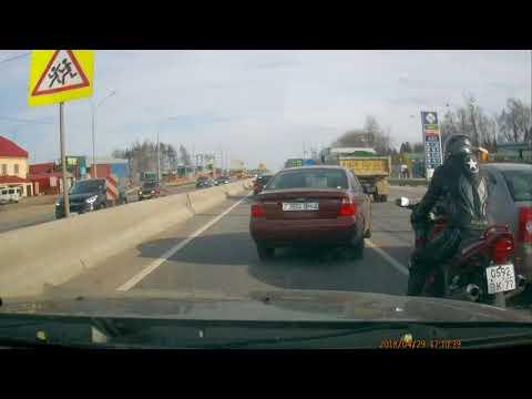 Авария в Радомле на Ленинградском шоссе
