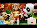 Little Kelly Got Injured While Skateboarding | Pretend Play with Doctor Toys | Rescue Team | ToyBus
