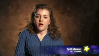2011 Young Hero Faith Bynum