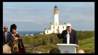 Turnberry United Kingdom  city photo : Donald Trump Turnberry Scotland Press Conference - Brexit 6/24/16