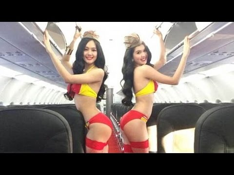 TOP 10 SEXIEST AIRLINES (JAW DROPPING) (видео)