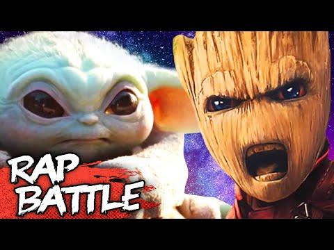 Baby Yoda vs. Baby Groot Rap Battle