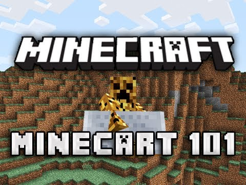 Minecart 101 - Minecraft (How-To)