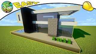 DEFAULT Minecraft EASY Modern House #1 by andyisyoda