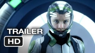 Ender S Game Official Trailer  2  2013    Asa Butterfield  Harrison Ford Movie Hd