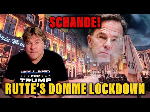 Schande Rutte's domme lockdown: Jensen