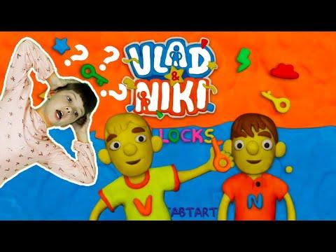 Vlad and Niki 12 Locks In Real Life – New Game for Kids Walkthrough