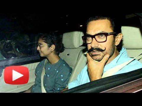 Aamir Khan And Kiran Rao Meet Karan Johar's Twins