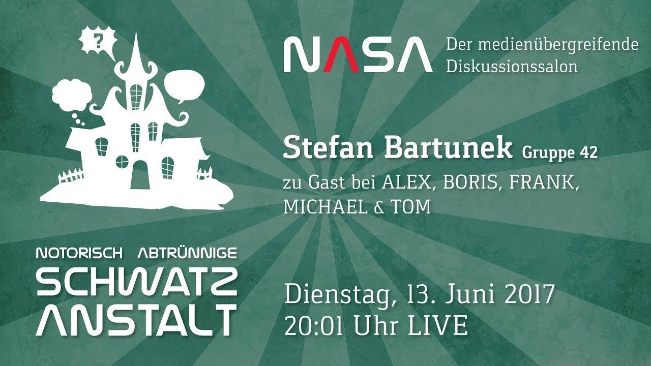 NASA No 15 – Zu Gast: Stephan Bartunek von der Gruppe42