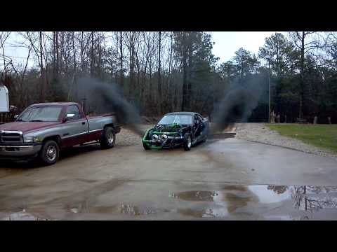 Mustang packs Cummins diesel engine