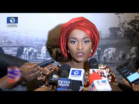 Buhari's Youngest Daughter,Hanan Hosts Photo Exhibition 'Vangi' Pt.1 |Art House|