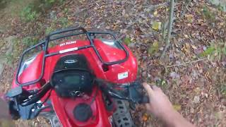 1. ripping the arctic cat 150
