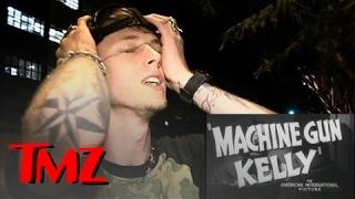 Machine Gun Kelly -- WASTED In West Hollywood!