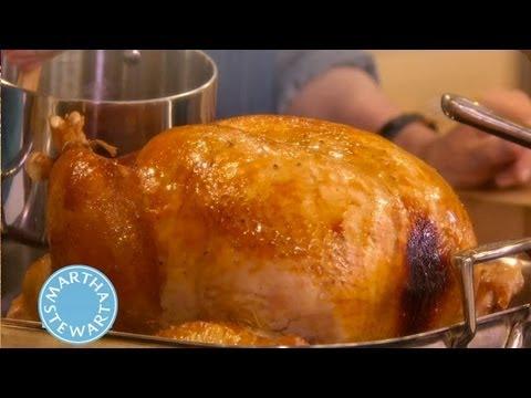 Turkey with Brown-Sugar Glaze | Thanksgiving Recipes | Martha Stewart