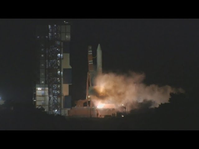 Epsilon-3 launches ASNARO-2 (イプシロンロケット3/高性能小型レーダ衛星)