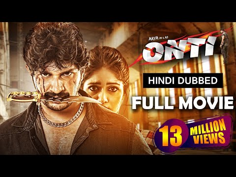 Onti Full Kannada Movie Dubbed In Hindi | Latest Action Movie