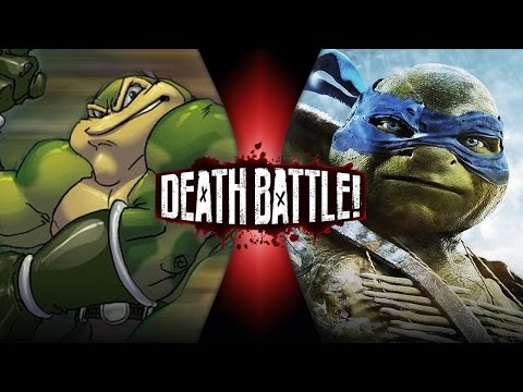 DEATH BATTLE! - Zitz VS Leonardo Video