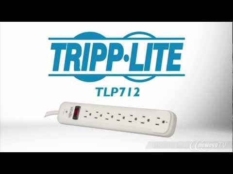 Product Tour: Tripp Lite TLP712 7 Outlets 1080 Joules 12' Cord Protect It! Surge Suppressor
