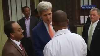 Kerry Praises Public Health Progress In Ethiopia