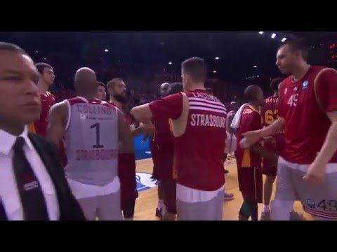 Highlights: Finals Game 1, Strasbourg 66-62 Galatasaray Odeabank Istanbul