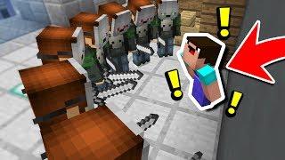 10 MURDERERS vs NOOB! (Minecraft Murder Mystery Challenge)