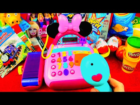 Minnie Mouse Bow-tique Electronic Cash Register Mickey Mouse Clubhouse Disney Junior Toys FluffyJet