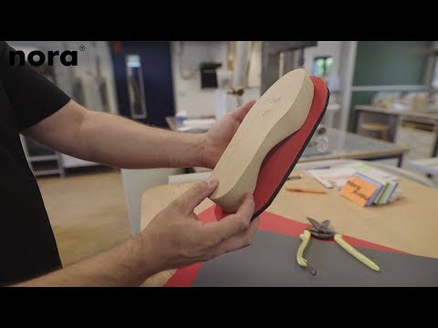 How to make an insole of nora® Lunatec combi 8 and Lunatec motion