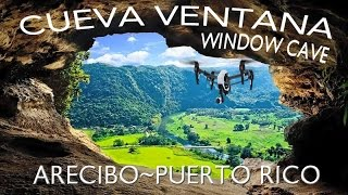"Cueva Ventana translates literally to ""Window Cave."" The Window Cave is an enchanting limestone cave set into the side of a cliff. The Cave offers impressive..."