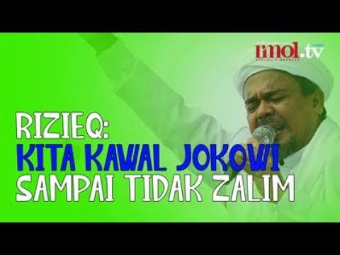 Rizieq: Kita Kawal Jokowi Sampai Tidak Zalim