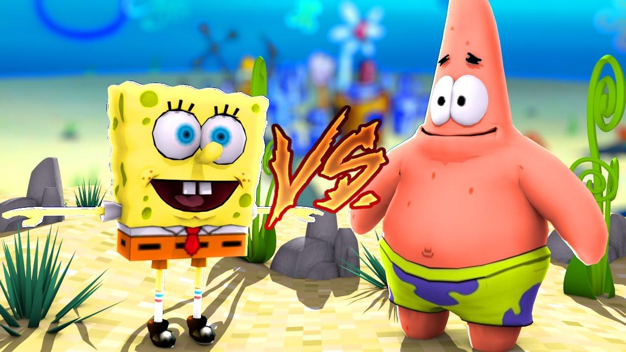 Minecraft: CORRIDA PVP – BOB ESPONJA vs PATRICK!