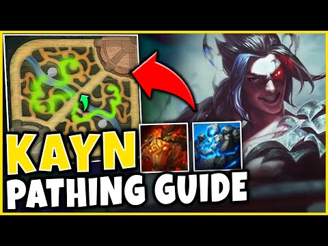 *FULL PATHING GUIDE* NEVER LOSE A GAME WITH THESE JUNGLE PATHS! - League of Legends
