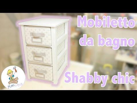 Come costruire un Mobile da bagno Shabby Chic - FAI DA TE