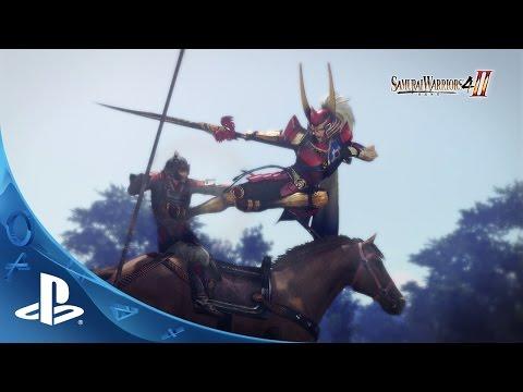 Samurai Warriors 4-II Trailer | PS4, PS3