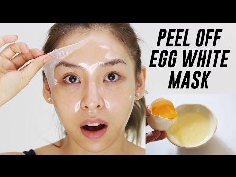 Peel Off Egg White Mask   TINA TRIES IT