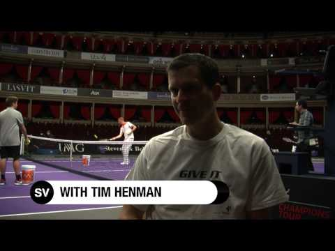 Sportsvibe Dream Teams - Who Are Tim Henman's Top 5 Tennis Players?