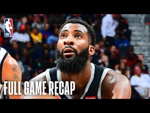 Video: PISTONS vs HAWKS | Andre Drummond Puts Up 26 & 21 | February 22, 2019