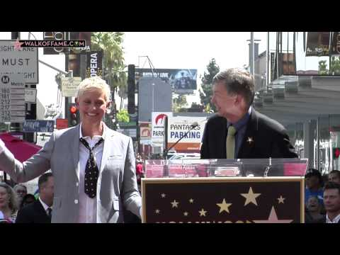 Ellen DeGeneres Walk of Fame Ceremony