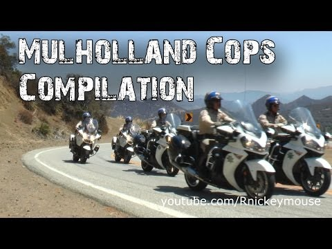 Sheriff - A collection of clips of local law enforcement working Mulholland Highway in Malibu. Videos are new or re-edits from other videos. Thanks for watching.
