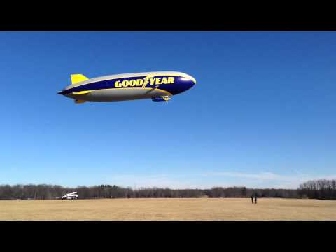 WATCH: Goodyear's New Blimp Takes Flight
