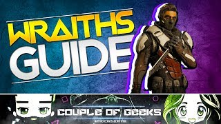 Lawbreakers: Wraith Guide with Tactics And Tips!Hey Breakers, we are back with another Lawbreakers video and this time it's all about the Wraiths Guide with Tactics and Tips! So if you are a Wraith Player or want to learn the Wraith then this is for you!Other Links:Twitter: https://twitter.com/cofgeeksFacebook: https://www.facebook.com/CoupleOfGeeks/Our Website: www.cofgeeks.comInstagram: https://www.instagram.com/coupleofgeekz/