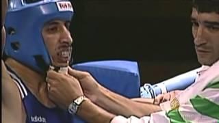 الرياضة العربية - الملاكم المغربي محمد ربيعي.. عنوان مشاركة عربية مشرفة ببطولة العالم في قطر