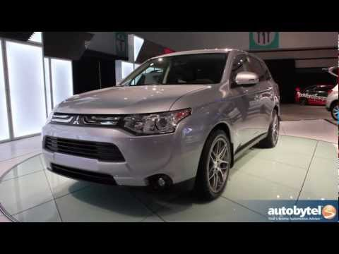 2014 Mitsubishi Outlander At The LA Auto Show