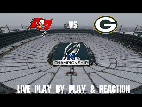 Packers vs Buccaneers NFC Championship Game Live Play by Play & Reaction
